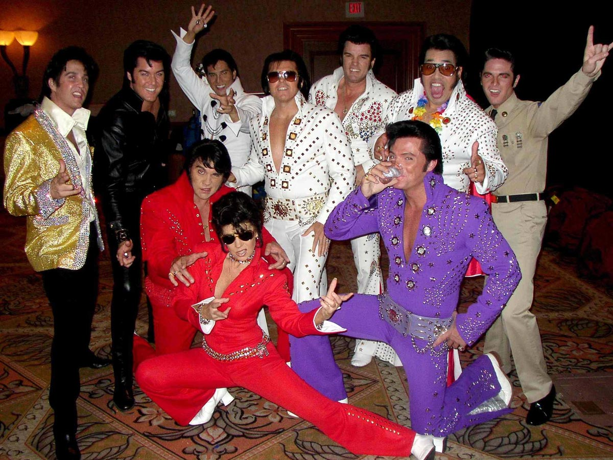 The World Famous ALL ELVIS CHOIR