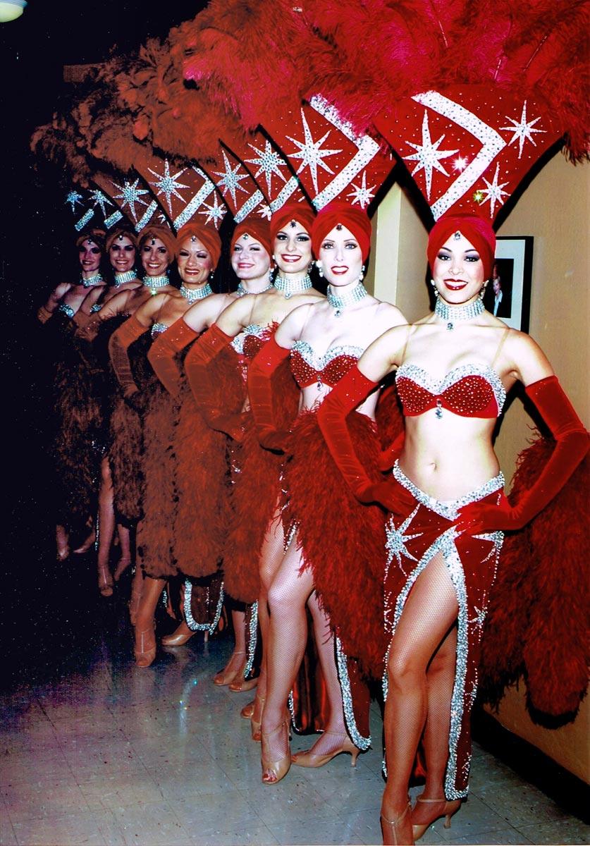 Showgirls Always Entertaining